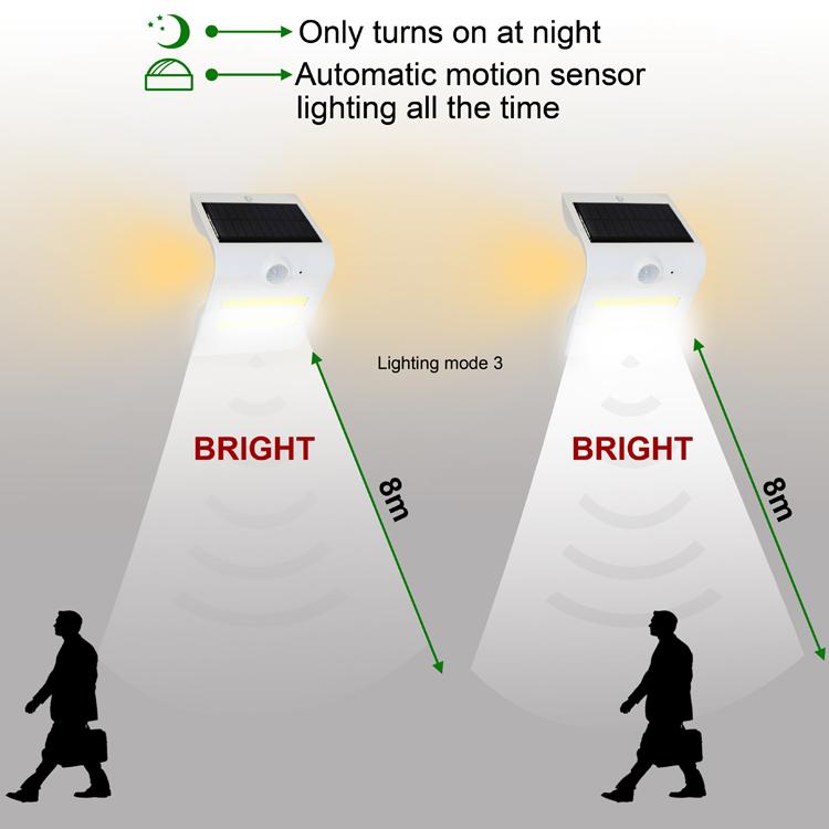 壁灯感应距离3