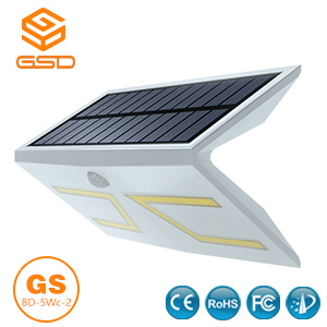 5Wc-2 Smart Solar Motion Sensor Light White